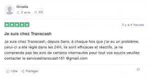 Transcash arnaque coupon